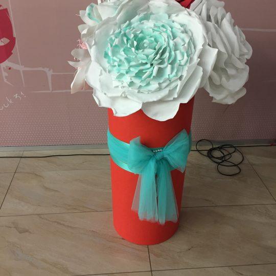 Аренда бумажных цветов, бумажные цветы на заказ