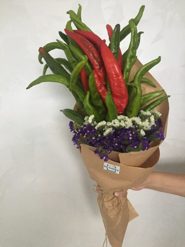 Заказать букет из овощей, заказать цветы, флористика