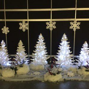 Аренда новогодней фотозоны, аренда елок